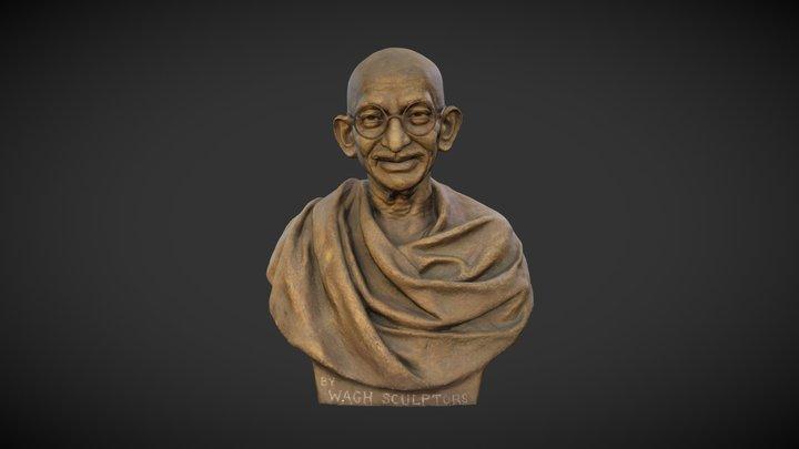 Gandhi by Wagh Sculptors #3 3D Model