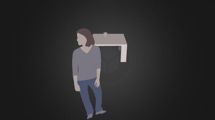 桌子 3D Model