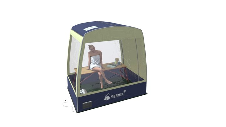 TERMIK STEAMBOX - парбокс для дома. 3D Model