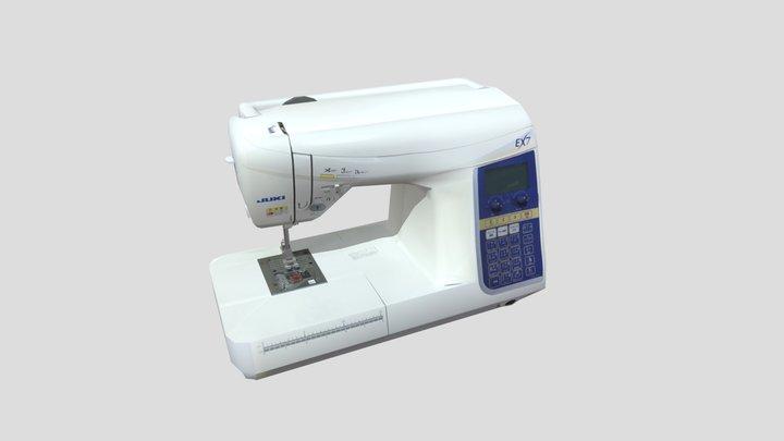 JUKI Sewing-machine 3D Model