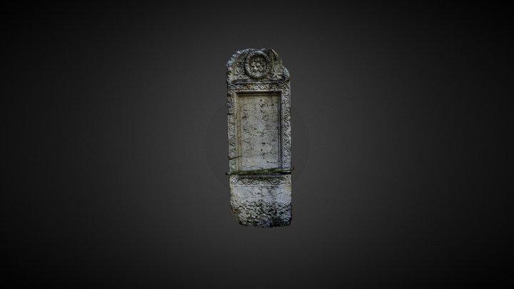 Roman gravestone (stele) 3D Model