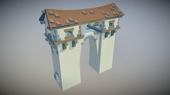 Tower Asset 3D Model