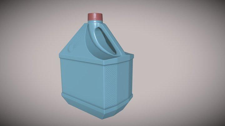 Сanister 3D Model