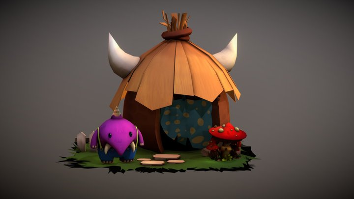 elfo house 3D Model
