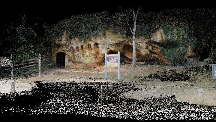 Cornwallis Cave Yorktown Virginia 3D Model