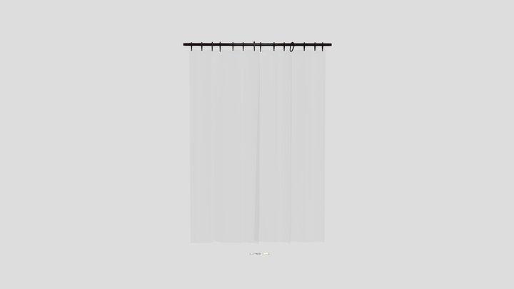 Amazon Curtain 3 3D Model