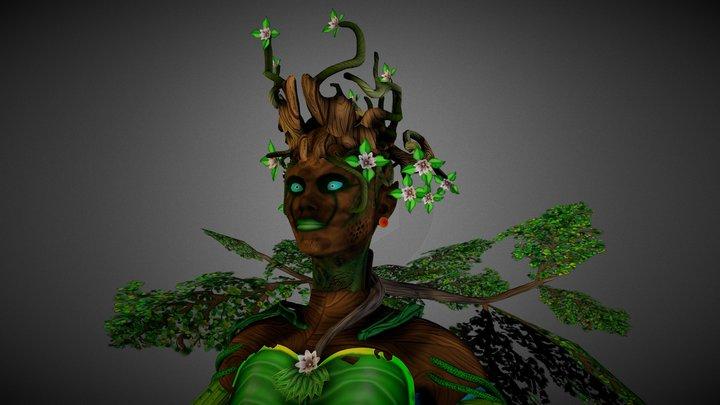 Forrest Goddess 3D Model