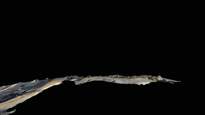 Rolling Hills 2200 Feet 3D Model