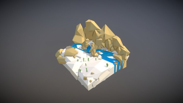 Battle Creek 3D Model