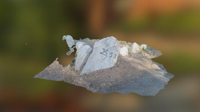 Adress Rock 3D Model