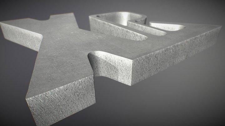 XPR300 - Образец резки алюминия (RU)