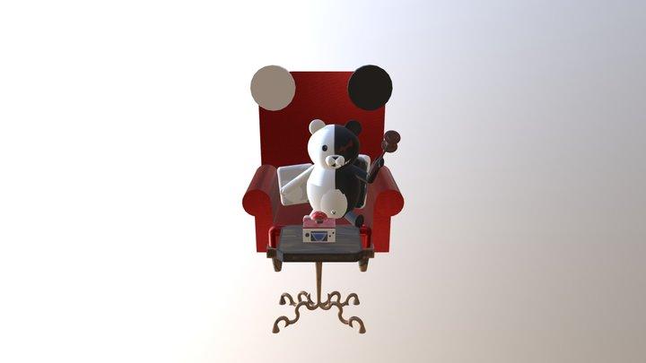 Monokuma 3D Model 3D Model