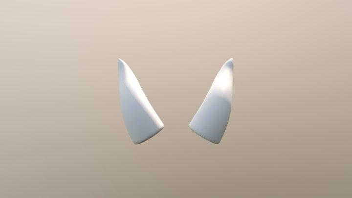 Rayla Horns 3D Model