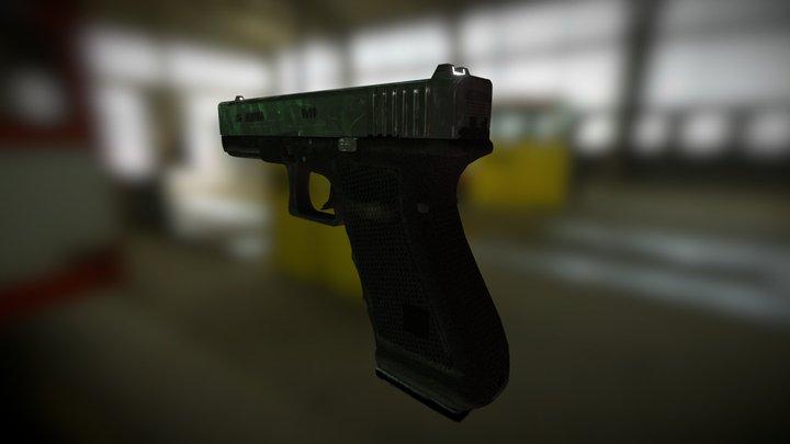 Black Mesa Glock 3D Model