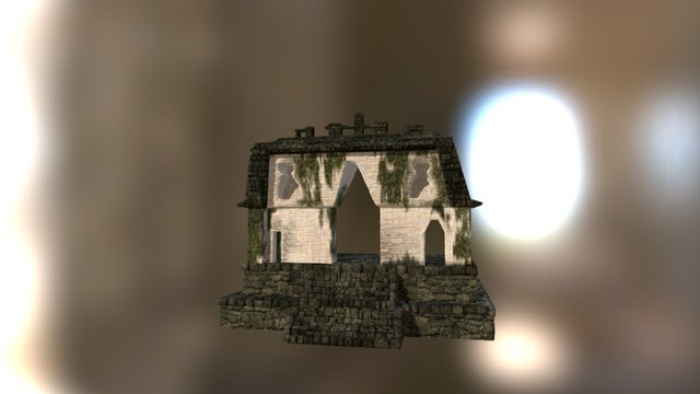 [old] Temple of the Foliated Cross 3D Model