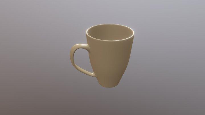 Simple Mug 3D Model