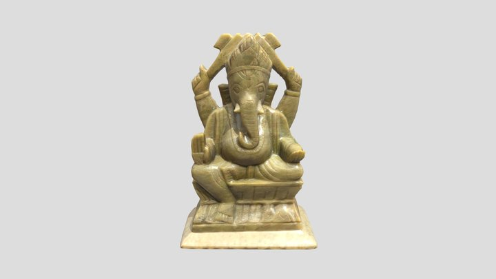 Statuette_Elephant 3D Model