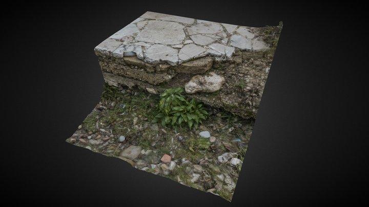 Under the pavement 3D Model