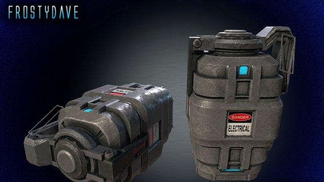 Pulse Grenade 3D Model