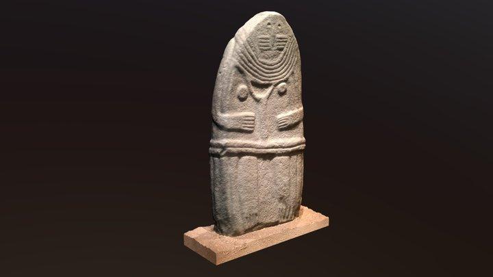 The Lady de Saint-Sernin 3D Model