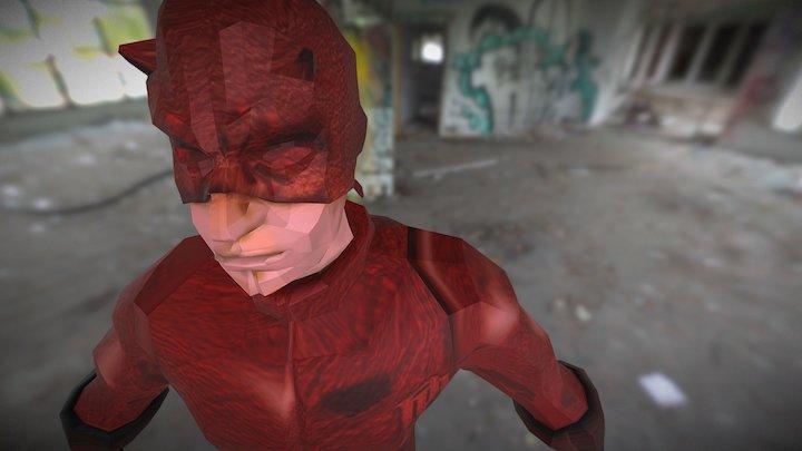 Dare Devil 3D Model