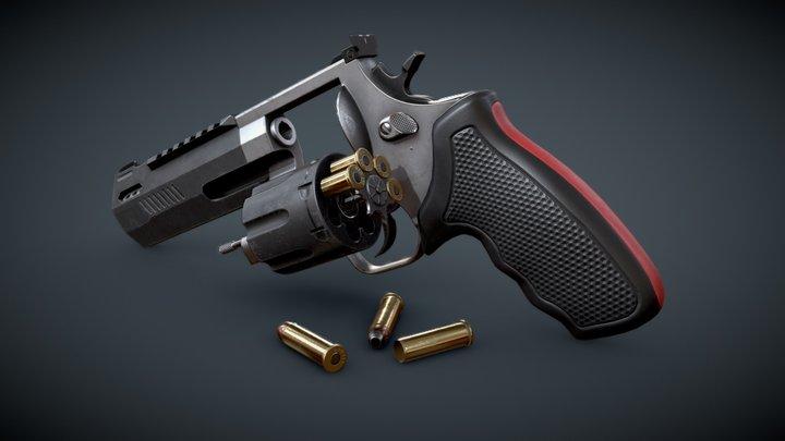 Revolver - Magnum 357 3D Model