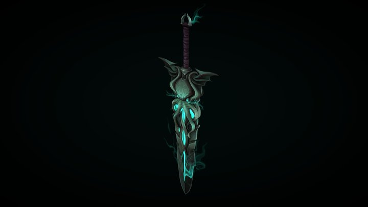 Sword of Cthulhu 3D Model