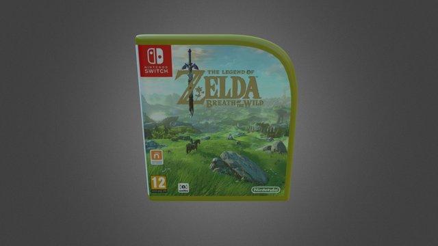 [Mockup] Zelda BOTW Nintendo Switch Case 3D Model