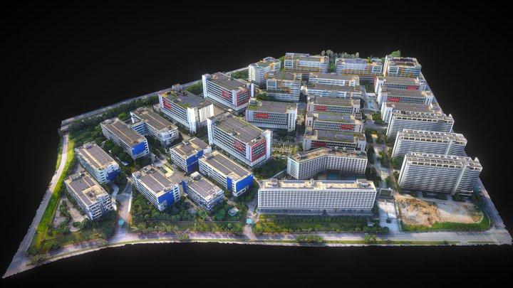 广州企业加速器 3D Model