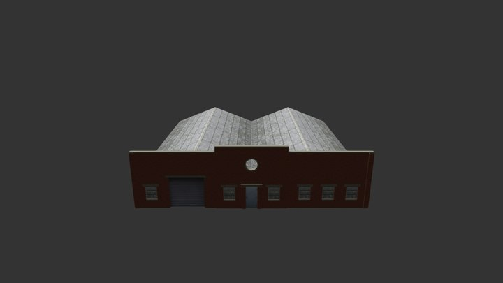 Factory Building 31 3D Model