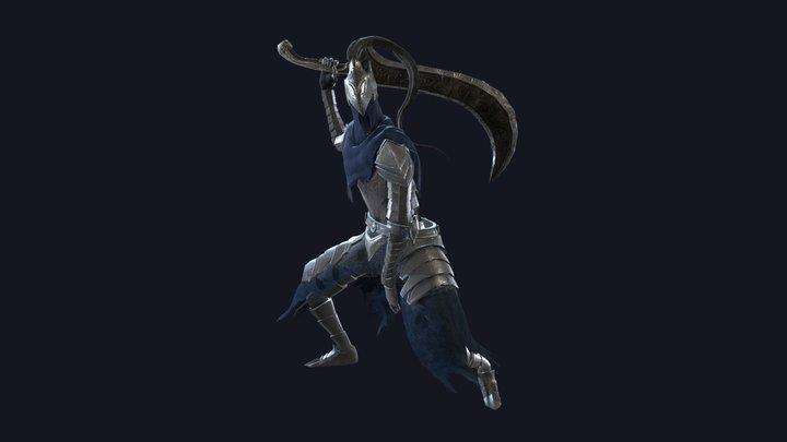 Dark Souls Artorios Armor 3D Model