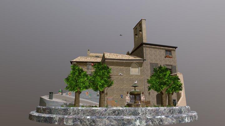 Cityscene Assisi Strooybants Glenn 3D Model