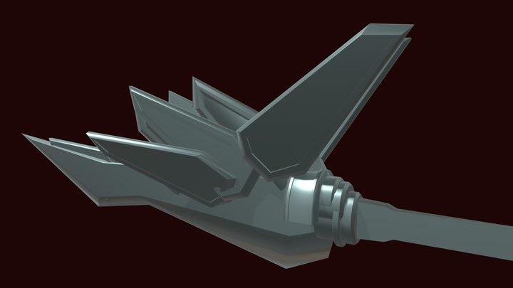 Shinryuken (blockout) 3D Model