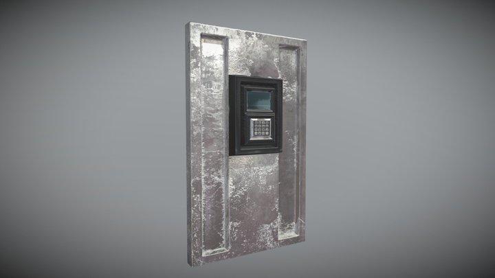 Door_Wall_Alley 3D Model