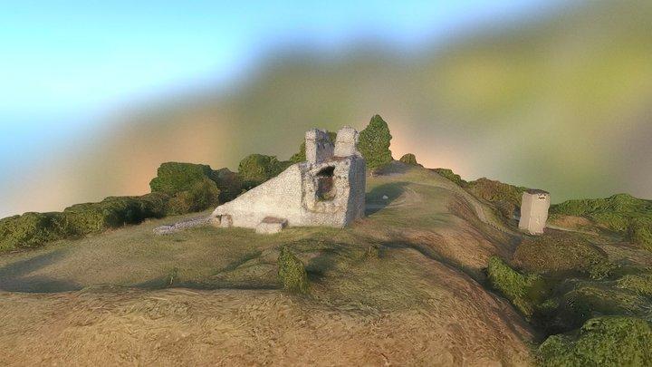 """Крепостта """"Камъка"""" - Оряхово 3D Model"""