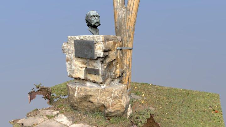 Denkmal Josef Schöffel (Retter des Wienerwaldes) 3D Model