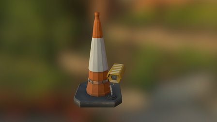 Traffic Cone thing 3D Model