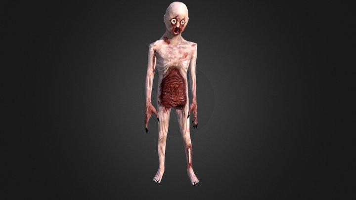 Zombie Boy - Low Poly - Animation 3D Model