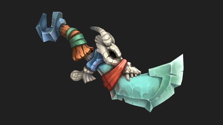 Necromancer Kniife 3D Model