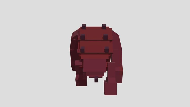 Osrs Jad made in BlockBench 3D Model