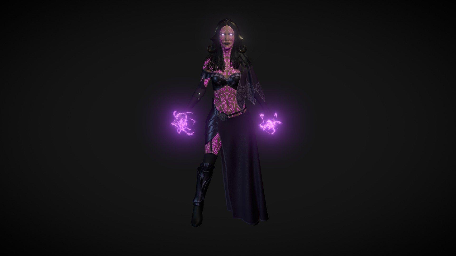 liliana art model