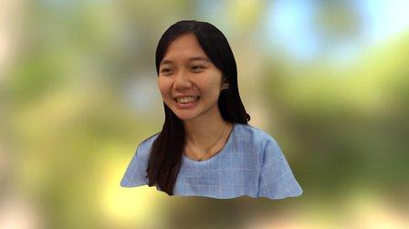 王嘉蓉老師 3D Model