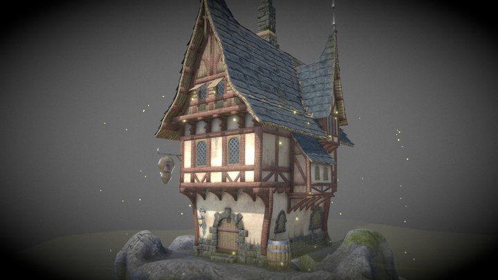 The Cliff Tavern 3D Model