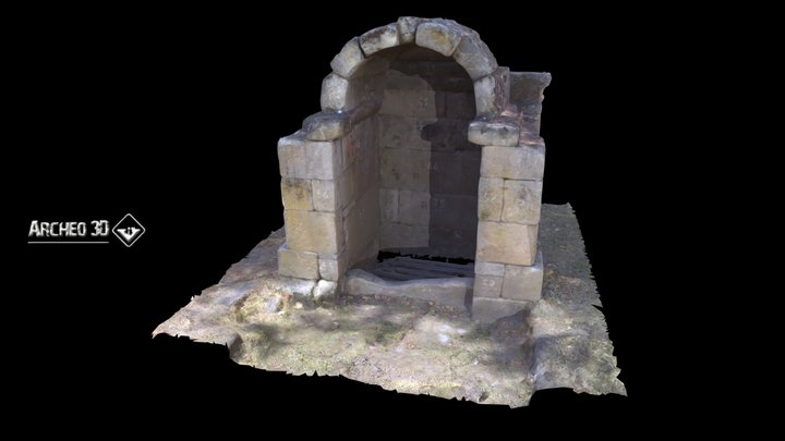 Fonte da Madalena 3D Model
