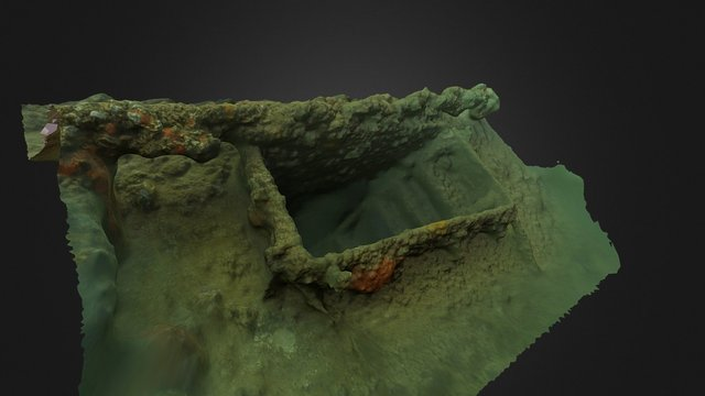 USS Utah- Hatch 3D Model