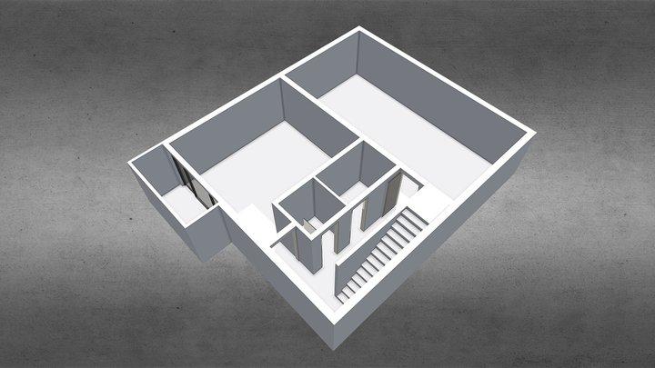 H S Model -1 3D Model