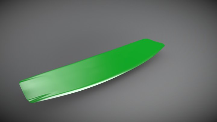 Project kiteboard 3D Model