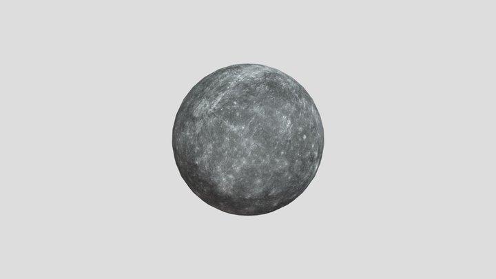 Mercurio 3D Model