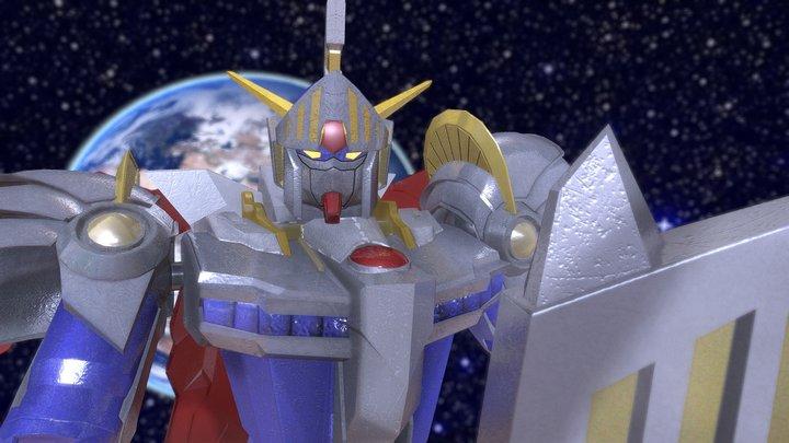 Gundam SD Knight 3D Model