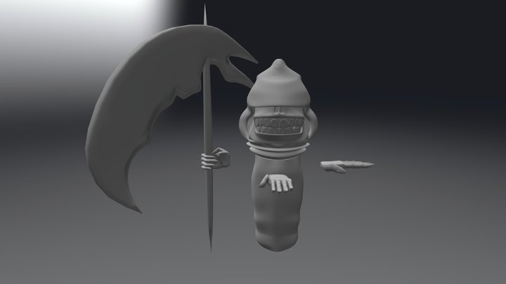 a las 3:00, Dead 3D Model